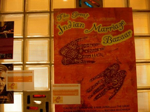 Einer der Filme, die ich angesehen habe: eine indische Journalistin gerät in die Mühlen der Hochzeitsindustrie.