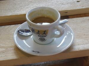 Jetzt erst mal Kaffee!