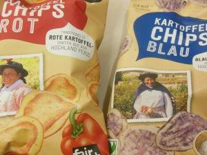 Chips rot/blau